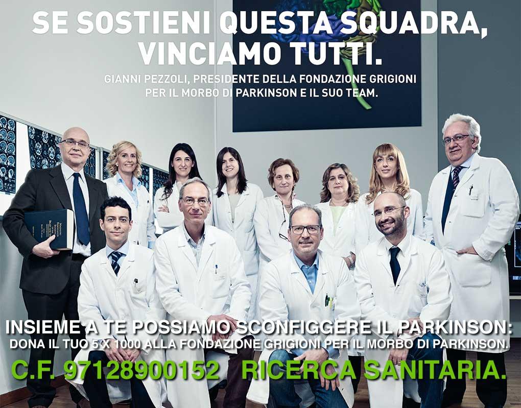 Per fare crescere la ricerca dona il tuo 5x1000 alla Fondazione Grigioni